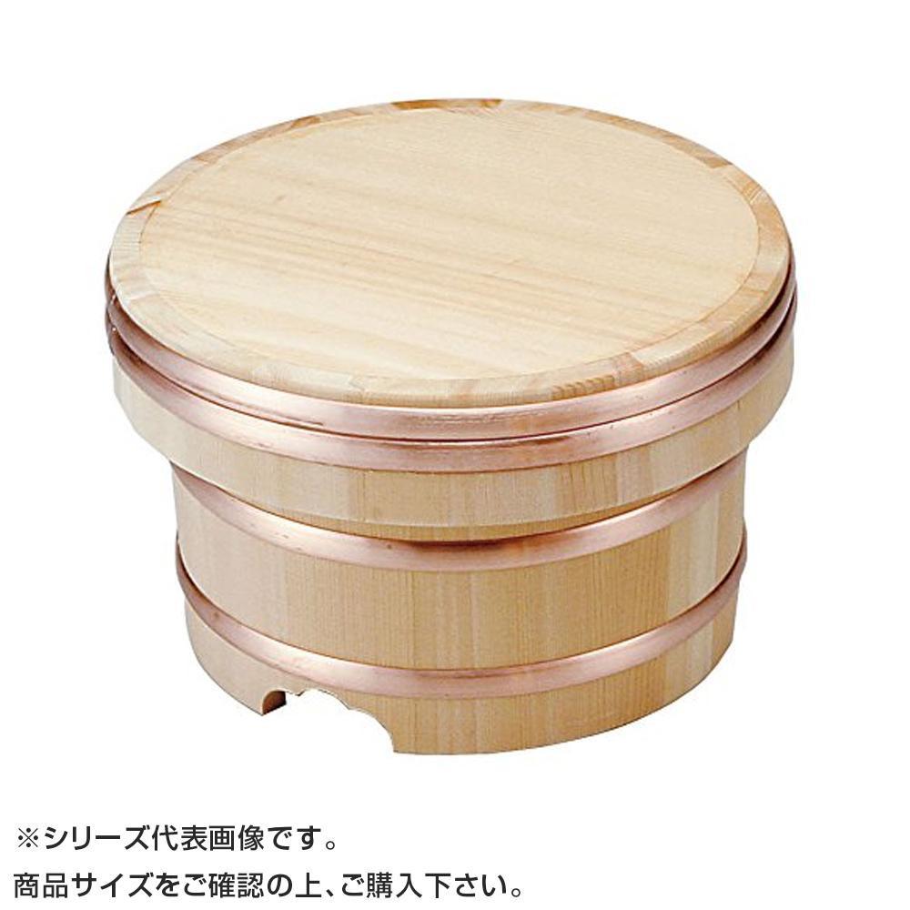 江戸びつ サワラ製 24cm 7合 057036