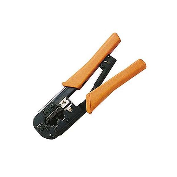 サンワサプライ かしめ工具 ラチェット付き HT-568R