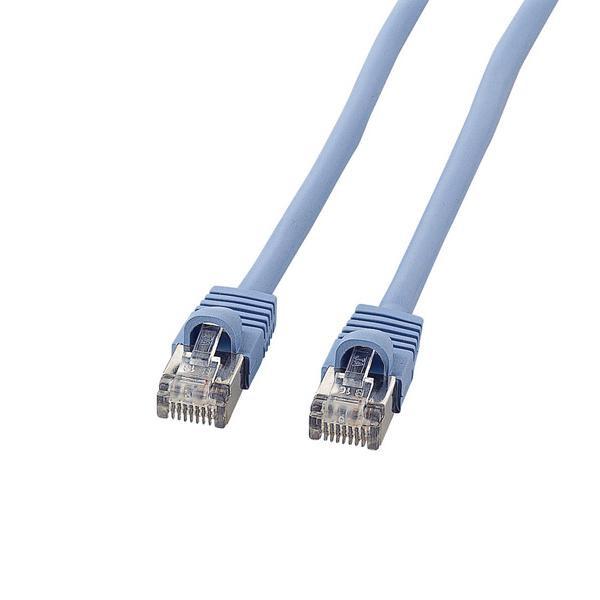 サンワサプライ STPエンハンスドカテゴリ5単線ケーブル 30m KB-STP-30LBN