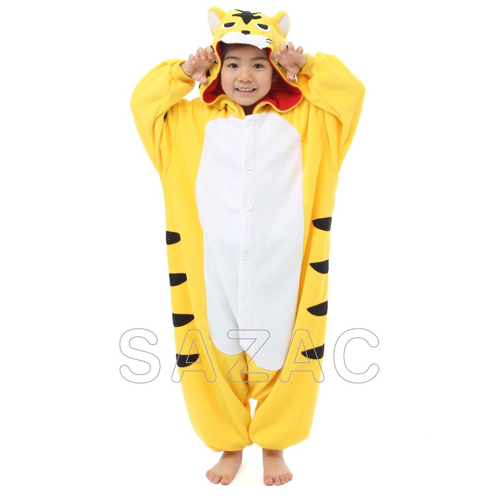 サザック フリース着ぐるみ トラ 110cm 2636F