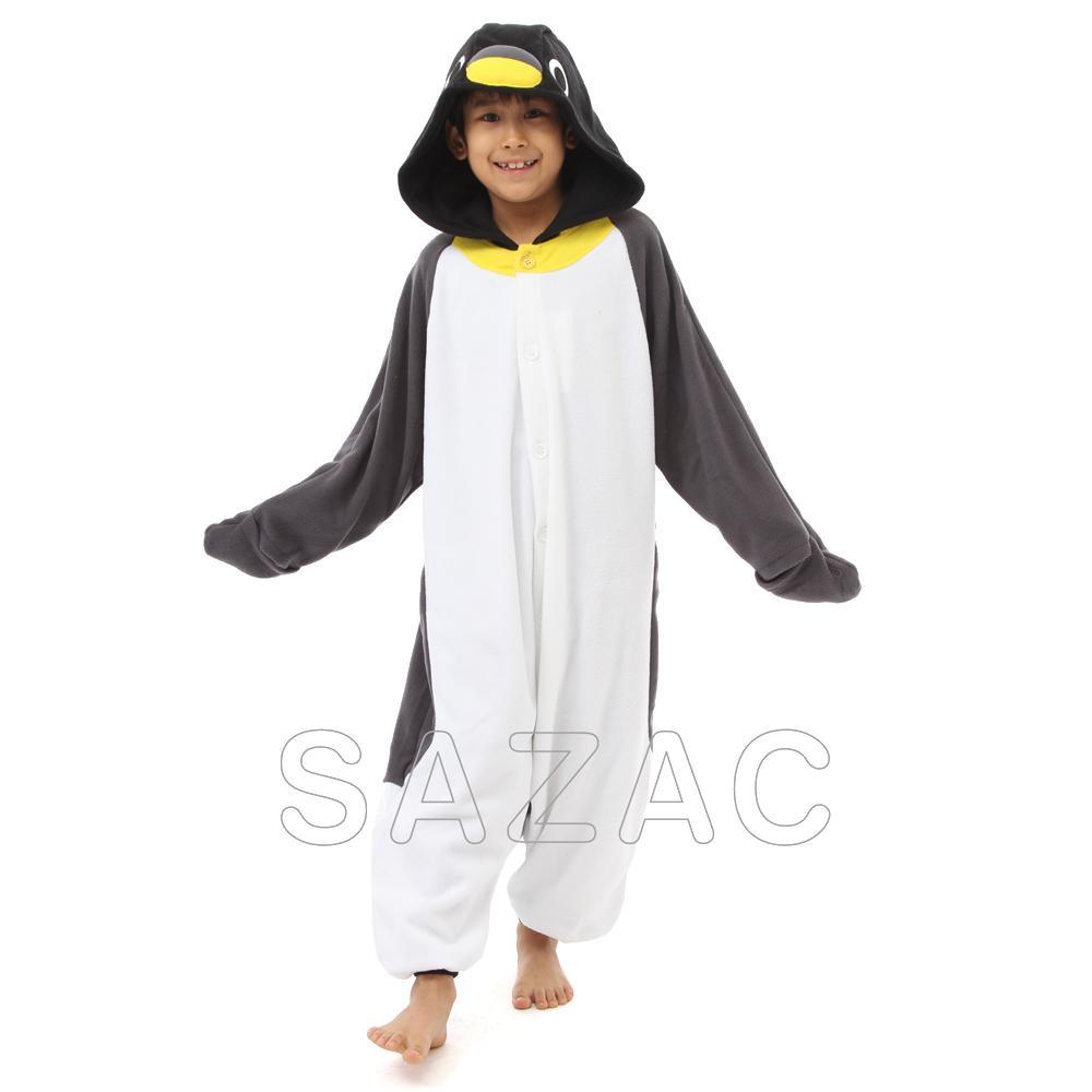 サザック フリース着ぐるみ ペンギン 130cm 2640H