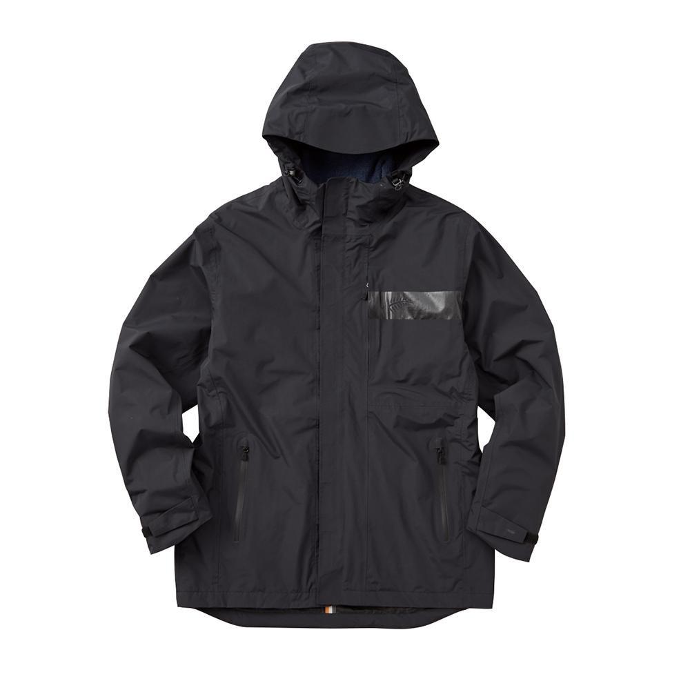 夏を除く3シーズン対応の防水防寒ミドル丈ジャケット。 FREE KNOT フリーノット BOWON ボディグリッドジャケット ブラック 90 LLサイズ Y1132-LL-90
