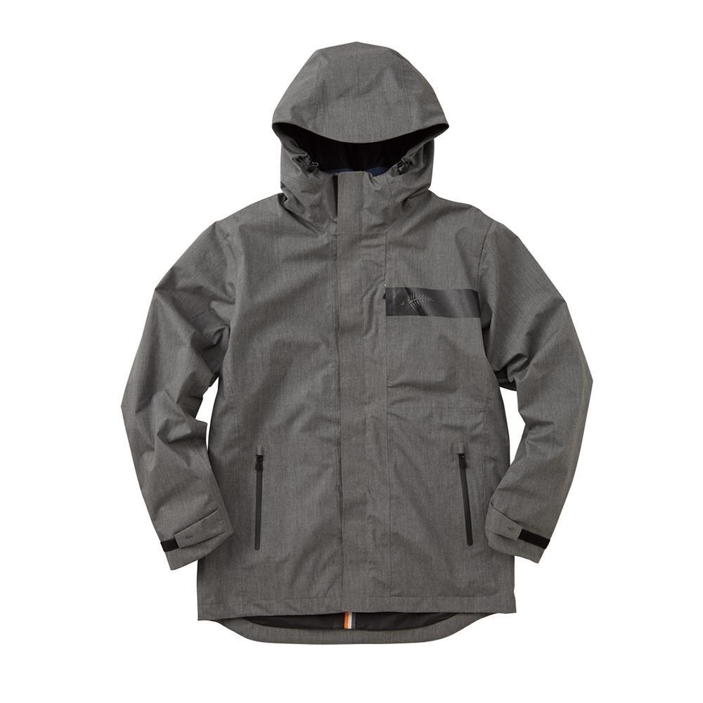 夏を除く3シーズン対応の防水防寒ミドル丈ジャケット。 FREE KNOT フリーノット BOWON ボディグリッドジャケット 杢グレー 94 Lサイズ Y1132-L-94