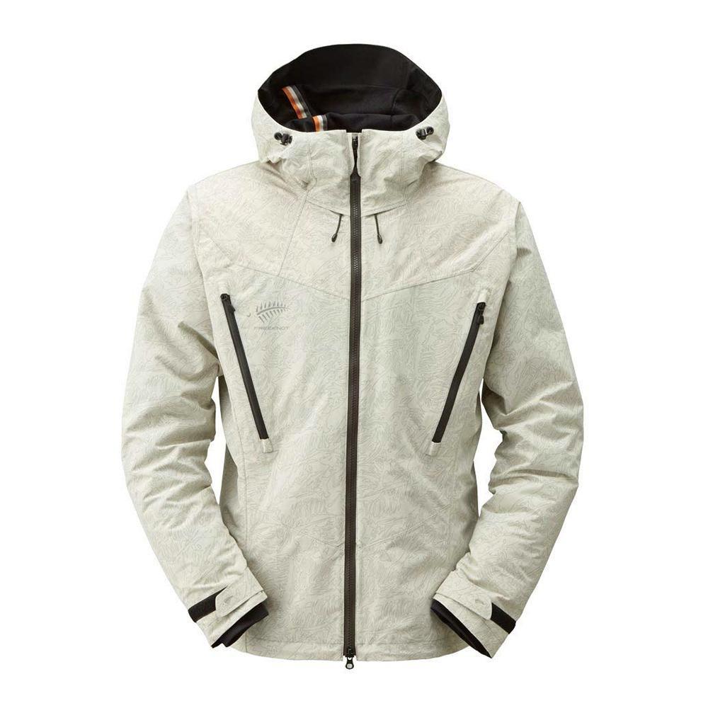 夏を除く3シーズン対応の防水防寒ジャケット。 FREE KNOT フリーノット BOWON ボディグリッドジャケット ライトグレー 96 LLサイズ Y1127-LL-96