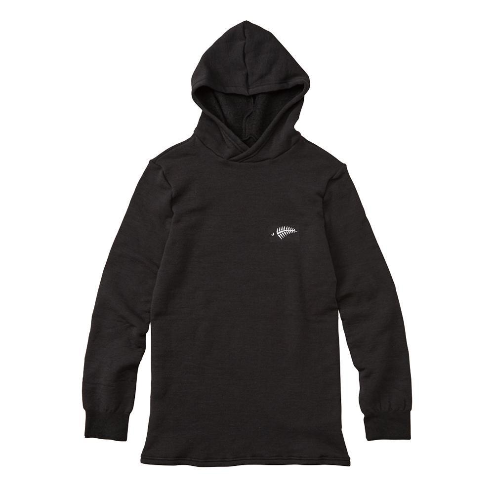 FREE KNOT フリーノット LAYER TECH フーデッドアンダーシャツ プラス ブラック 90 Lサイズ Y1662-L-90