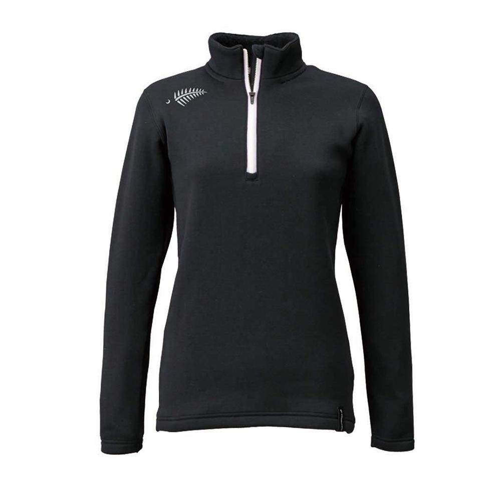 FREE KNOT フリーノット LAYER TECH ジップアップシャツ シープバック超厚手 ウィメンズ ブラック 90 WLサイズ Y1631W-L-90