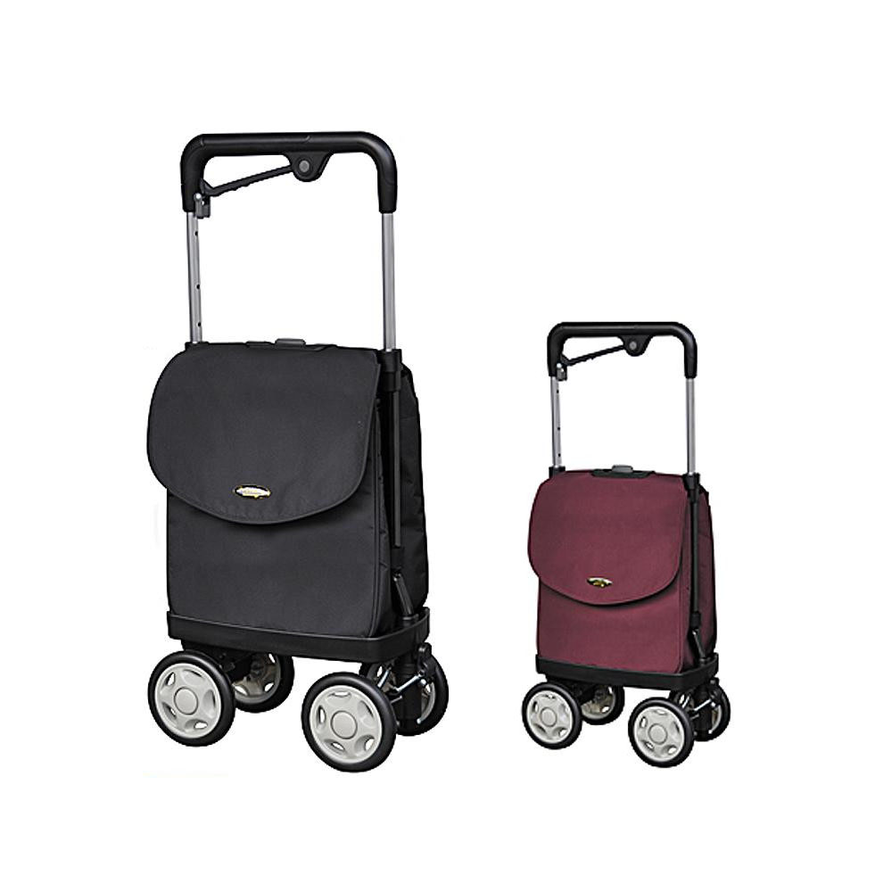 買い物カート 4輪 横押し大容量 高齢者 ショッピングカート 横押し