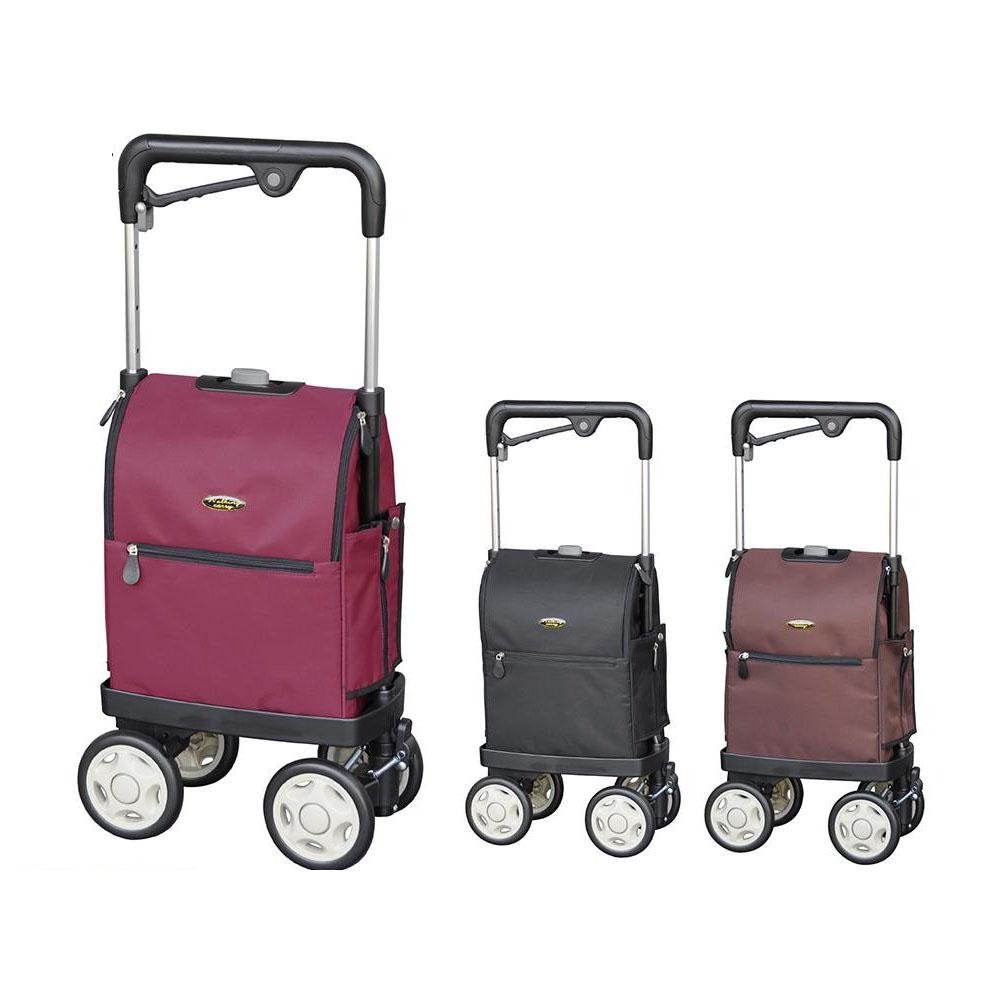 ショッピングカート 4輪 横押し 大容量 横押しカート 買い物カート