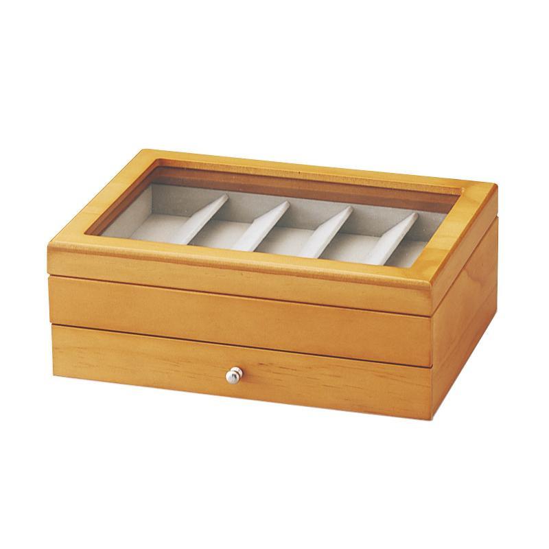 メガネボックス 木製 メガネ収納ボックス 5本 男性 高齢者 プレゼント