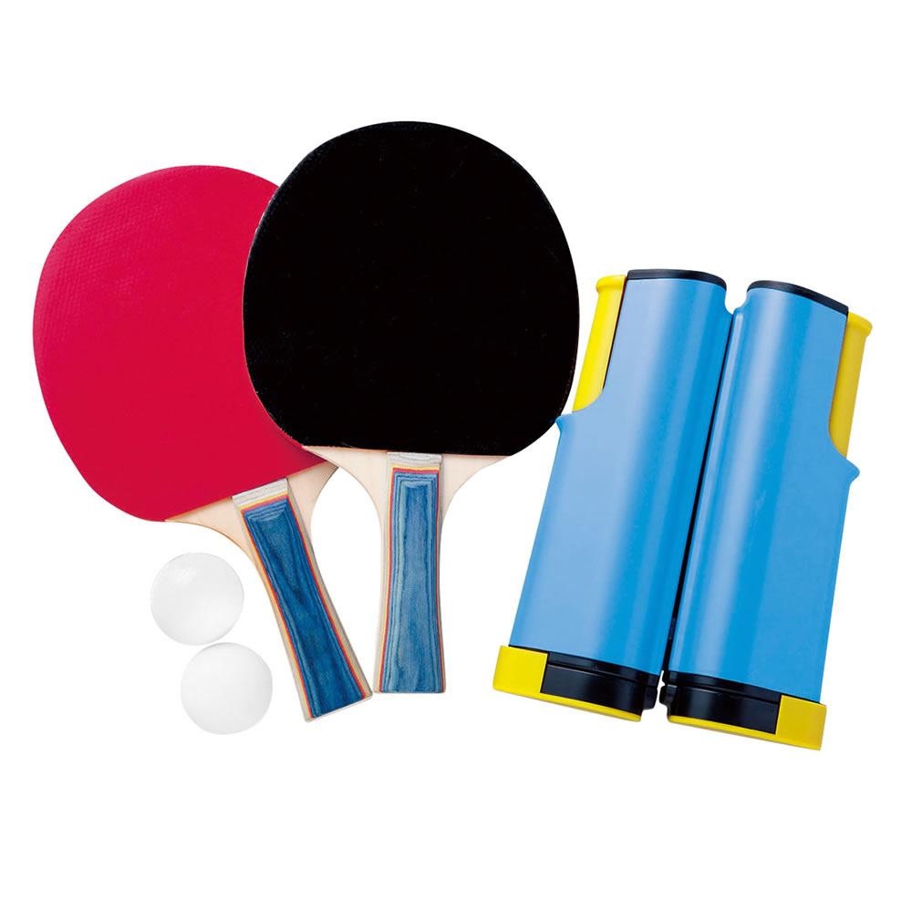 家庭用卓球セット おもちゃ ポータブル卓球セット どこでも卓球セット