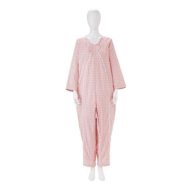パジャマ 前開き 寝巻き レディース 介護用 寝巻き 男性用 L