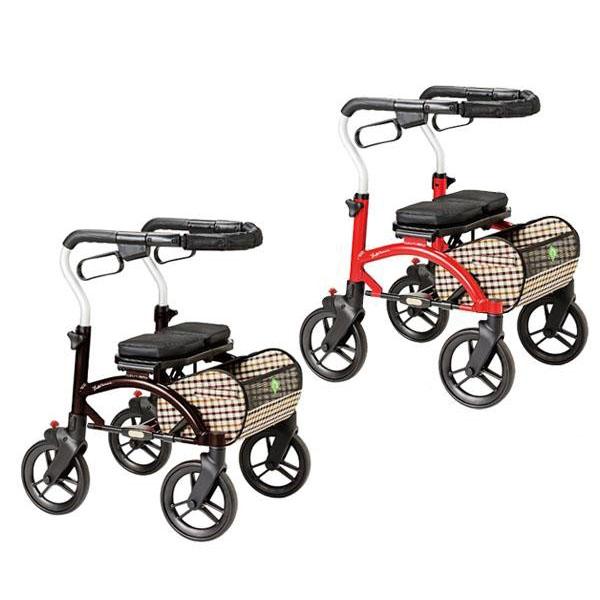 シルバーカー 歩行器 室内用 座面付き 高齢者用シルバーカート 屋外用の歩行車
