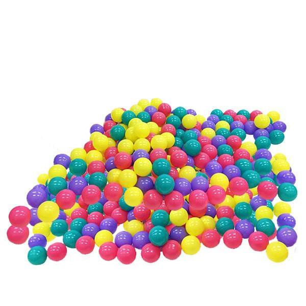 ボールプール用ボール 500個 カラーボール 7cm ポリエチレン