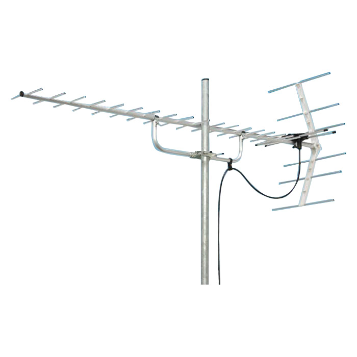 UHFアンテナ 20素子 地デジアンテナ 屋外 弱電界 UHFアンテナ 家庭用