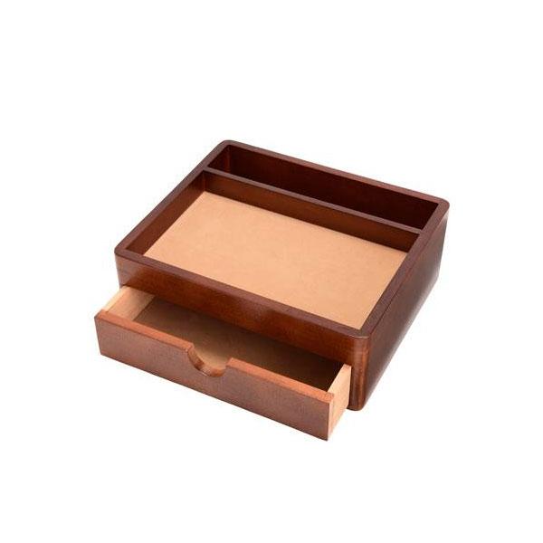 木製小物入れ 引き出し オーバーナイター 小物入れ カッコイイ小物トレイ