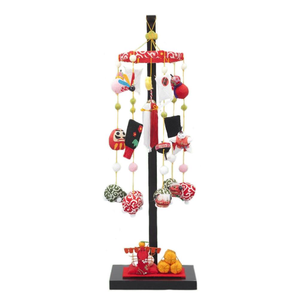 日本製 つるし飾りセット つるし飾り つるし飾り台 五節句シリーズ 1月7日 七草の節句