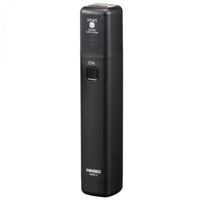 コンパクトなサイズとリチウムイオン蓄電池式で持ち運びも可能 HARIO ハリオ モバイルミル MSG用ホルダー付 EMS-1B 激安特価品 MSS 信用 スティック