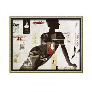 ユーパワー オマージュ キャンバスアート ハイファッション1 Lサイズ BC-18017
