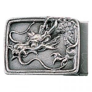 高岡銅器 銅製小物 名取川雅司作 バックル タツ 52-10