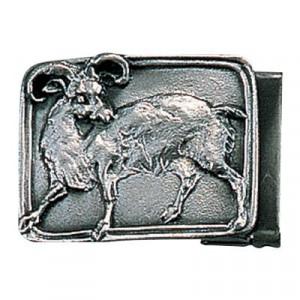 高岡銅器 銅製小物 名取川雅司作 バックル ヒツジ 52-13