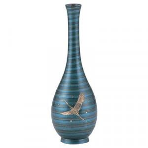 高岡銅器 銅製花瓶 鶴首 鶴 7号 97-11
