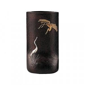 高岡銅器 銅製花瓶 祝 99-09