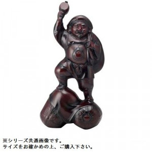 高岡銅器 和風置物 二俵大黒 15号 152-02