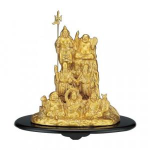 高岡銅器 和風置物 夢七福神 152-14
