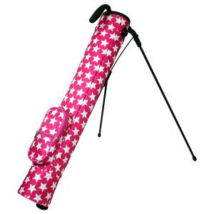 アズロフ ゴルフスタンド スターセルフスタンド 08:ピンクホワイト:PocketCompany 店