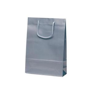 ナイスバッグ 手提袋 225×80×320mm 50枚 シルバー 1152