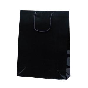 グランドバッグ 手提袋 380×145×500mm 50枚 ブラック 1143