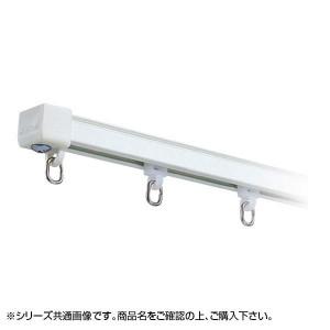 岡田装飾 OSスーパーAレールセット MG入り 3.64m×2本 AワンタッチWブラケット付き8個 アルミホワイト 7MW36AW
