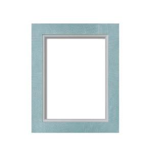 油額 花シリーズ 花櫛目 グリーン SM 227×158mm ガラス