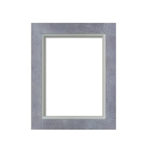 油額 花シリーズ 花櫛目 ブラウン SM 227×158mm ガラス