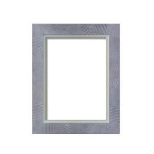 油額 花シリーズ 花櫛目 ブラウン F10号 530×455mm ガラス