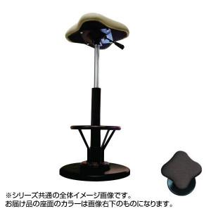 ツイストスツールラフレシアKモーR フットレスト付き ブラウン/ブラック TWS-240R