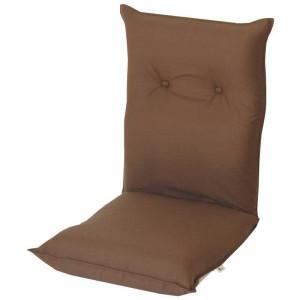 シンプル座椅子 凛 ブラウン