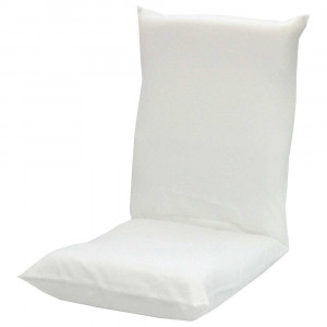シンプル座椅子ヌード WH