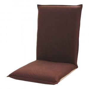 ぽかぽか座椅子 アルミ蒸着シート貼り ブラウン