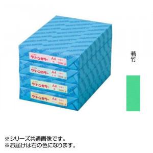 クリーンカラー A3 特厚口 28 若竹 500枚包 C513-28