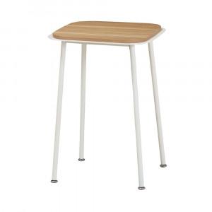 ルリク サイドテーブル ホワイト RRKST40WH