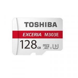 TOSHIBA 東芝 高耐久microSDXCメモリカード 128GB EMU-A128G