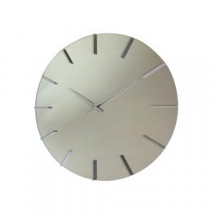 アクトレスクロック ステップ時計 シルバー V-0056