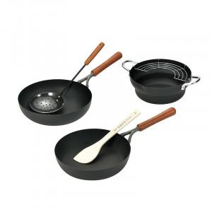 赤坂璃宮厳選 鉄製調理道具3点セット ART-1000