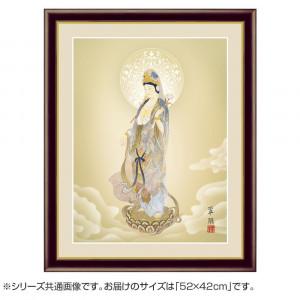 アート額絵 鈴木翠朋 聖観音 G4-BB021 52×42cm