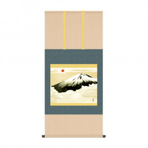 床の間に日本の美 [並行輸入品] 掛け軸を 掛軸 横山大観 完売 霊峰不二 KZ2G9-003 54.5×115cm