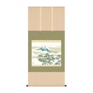 掛軸 横山大観 松に富士 KZ2G9-004 54.5×115cm