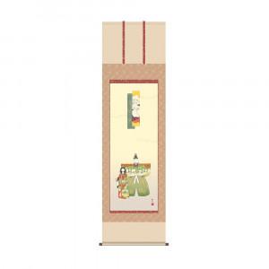 お気にいる 床の間に日本の美 掛け軸を 爆売りセール開催中 掛軸 浮田秋水 KZ2F1-186 54.5×190cm 立雛