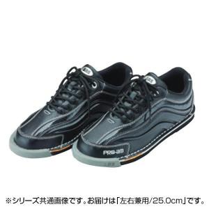 ABS ボウリングシューズ ブラック・ブラック 左右兼用 25.0cm S-950