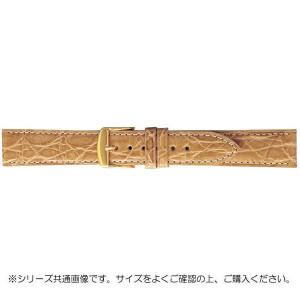 BAMBI バンビ 時計バンド エルセ ワニ革 ベージュ 美錠:金 SWA007FI